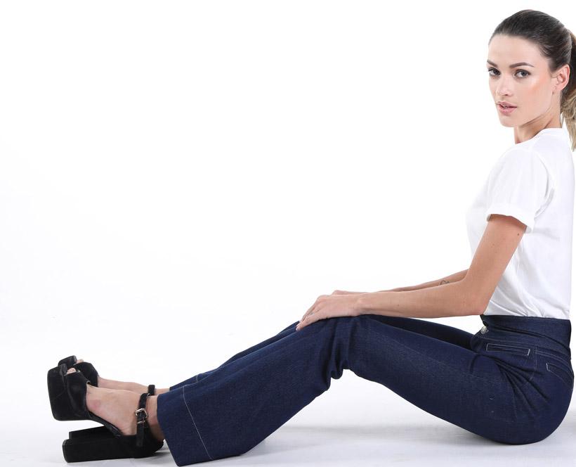 Damenjeans nach Maß und Wunsch, Custom Made Jeans für Damen